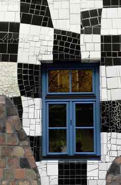 Hundertwasser House window