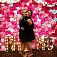 #TBT to such an amazing day last year, Preference Day, with my person the next day we welcomed HΦΜE our perfect new Phi's!!!!! We can't contain our excitement for this fall's BID DAYYYY!!!!!!!