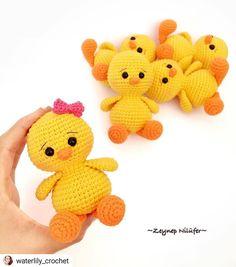 Mesmerizing Crochet an Amigurumi Rabbit Ideas. Lovely Crochet an Amigurumi Rabbit Ideas. Easter Crochet Patterns, Crochet Birds, Crochet Patterns Amigurumi, Cute Crochet, Amigurumi Doll, Crochet Animals, Crochet Dolls, Crochet Baby, Amigurumi Tutorial