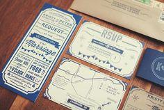 Rustic Barn Letterpress Wedding Invitations Peter Hootman7 Peter + Kristys Rustic Letterpress Wedding Invitations