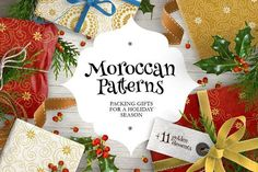 Moroccan Patterns Vol. 1 by O'Gold! on @creativemarket