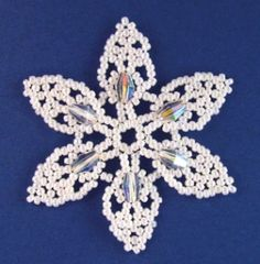NEW pattern available - Snowflake #85 Ornament Pattern