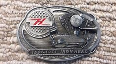 Ironhead #sportster harley apparel belt #buckle #pewter 1957 to 1971,  View more on the LINK: http://www.zeppy.io/product/gb/2/111896485531/