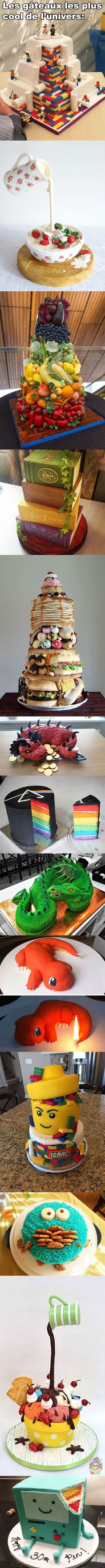 Best cakes ever Beautiful Cakes, Amazing Cakes, Potato Girl, Best Cake Ever, Gravity Cake, Super Cool Stuff, Image Fun, Quites, Culinary Arts