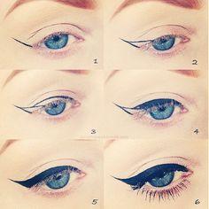 Eyeliner trick