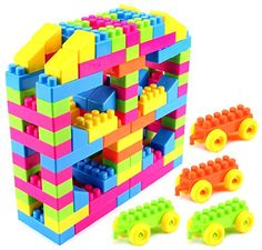 Building Blocks 134 Piece Toy Interlocking Building Blocks Play Set, Bright Vivid Colors, Endless Combinations Toy Building Blocks http://www.amazon.com/dp/B00U7XYUXI/ref=cm_sw_r_pi_dp_Af9lwb129ADD4