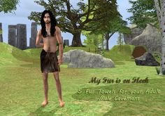 Making some research and looking for CC for my TS2 History Challenge was a Challenge indeed, Yes, there's TONS of Medieval, Regency and Victorian Clothing on the Web but for my Neolithic Sims i only found some fantasy Flinstones theme Costumes, not very realistic TBH. So i attempt to create my own Caveman fashions. This is just a basic Towel Fur, perfect for those cool days in summer, also gives you full mobility to do your daily routines like hunt, fishing or gathering fruits and…