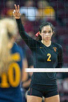 Women of Troy volleyball- Samantha Bricio.