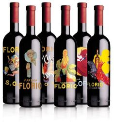 Marsala florio. Fab illustrations for all our wine loving #packaging peeps PD