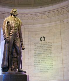 Virginia Statute for Religious Freedom Established Separation of Church and State : The Act, written by Thomas Jefferson, allowed Virginia to become the first state to separate church and state and remains part of Virginia's constitution. It was later used as a model for other state constitutions as well as the First Amendment to the U.S. Constitution.