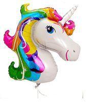 Ballon mylar licorne sur DC - sélection articles et idées anniversaire licorne - enfants - kids - unicorn - party - birthday - décoration