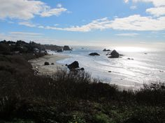 Harris Beach State Park and Campground is located near the town of Brookings, OR and has 156 campsites with full amenities and avg fees of $20 per night