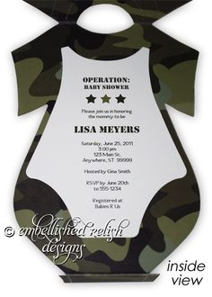 27 best baby shower images on pinterest baby shower camo army camouflage baby shower invitations boy google search filmwisefo