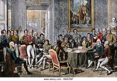The Congress of Vienna met in The objective of the Congress was to settle the many issues arising from the French Revolutionary Wars, the Napoleonic Wars, and the dissolution of the Holy Roman Empire. Concert Of Europe, Congress Of Vienna, German Confederation, Kingdom Of Naples, Treaty Of Paris, Kingdom Of The Netherlands, Holy Roman Empire, Jean Baptiste, Socialism