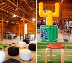 First birthday party ideas... Sports theme