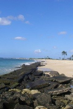 Witness stunning sunsets at Sand Island State Recreation Area in Honolulu, Hawaii.