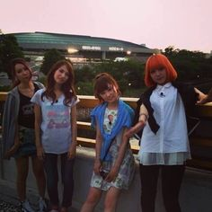 SCANDAL (スキャンダル) RINA(リナ),TOMOMI (トモミ), MAMI(マミ), HARUNA(ハルナ)