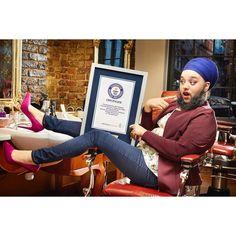 Weltrekord: Diese Engländerin ist die jüngste Frau mit Vollbart!