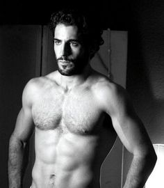 Miguel Angel Silvestre, spanish actor.