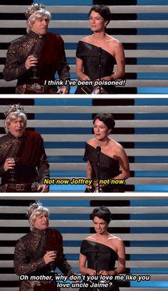 Game of Thrones funny . Lena Headley