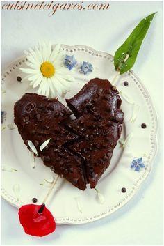 Brownies Haricots noirs et Chocolat (sans gluten)