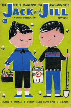 Jack and Jill magazine, May 1959 cover