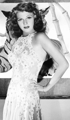 Rita Hayworth photographed by George Hurrell for You Were Never Lovelier, 1942