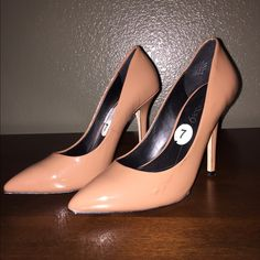 Boutique 9 pumps A scuff on each shoe as pictured. Very comfortable. Too big. I tried to make them work  (and scuffed them up) size 7 Boutique 9 Shoes Heels