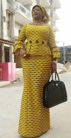 Chitenge for mum African Dresses For Women, African Print Dresses, African Print Fashion, Africa Fashion, African Attire, African Wear, African Fashion Dresses, African Women, Ghanaian Fashion