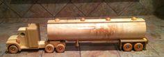 18 Wheeler Tanker Truck. $45.00, via Etsy.