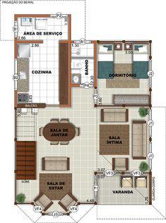 105,03 m² – Brasil Casas de Madeira