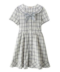 【Special item】チェックセーラーワンピ | axes femme online shop