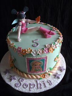 Winx fairies cake (musa) by Cakes by Lea, via Flickr