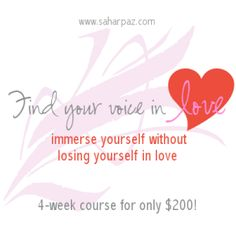 Find Your voice in Love