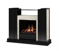 Product of the Day: Dimplex Rockwell OptiMyst Electric Fireplace