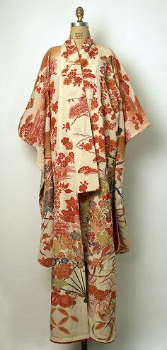 Japan. Silk Kimono, 20th century