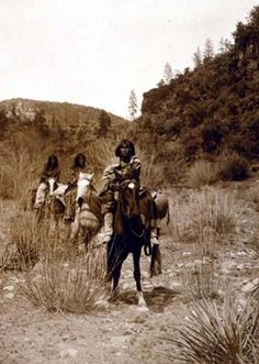 Apache and their land, 1903 by Edward S Curtis
