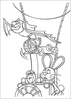 Peter Cottontail Kleurplaten voor kinderen. Kleurplaat en afdrukken tekenen nº 49