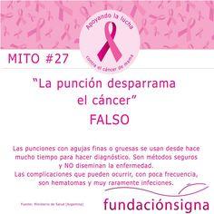 #Mitos #CáncerDeMama