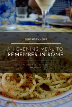 Bon Appetour, Eating Like a Local in a home close to The Vatican. Book an evening dinner to remember in a Local Roman home.
