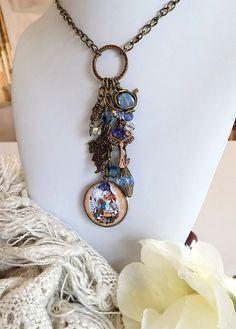Alice in Wonderland Charm  Necklace  Alice Locket Necklace Alice in Wonderland…