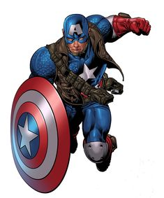 Ultimate Captain America by Mike Deodato Jr