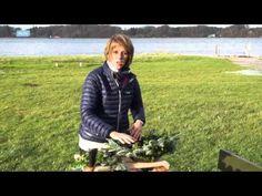 Blomster fra naturen til Uniqa - November - YouTube
