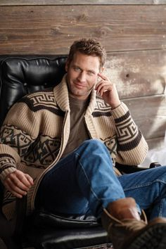 """The new, tribute version of the """"Lebowski"""" sweater, the """"Dude Cardigan,"""" will be available in September."""