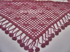 crochet scarf collar