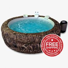 Realtree Max-5 6 Person Hottub | Camo Portable Spas For Every Hunter!