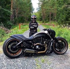 Nbig bike or little man? Sweet bike though. Bobber Motorcycle, Moto Bike, Cool Motorcycles, Motorcycle Design, Motorcycle Outfit, Vrod Harley, Harley Bikes, Harley Davidson Motorcycles, Vrod Custom