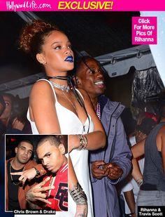 Rihanna & Chris Brown - Hollywood Life