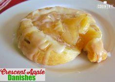 Crescent Apple Danish