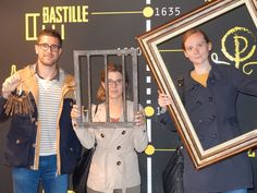 Pour son premier escape game, la TEAM EIVP s'est confrontée à la Sorbonne. Malheureusement, ils n'ont pas réussi à en résoudre toutes les énigmes ! Peut être que la Bastille sera plus clémente avec eux !